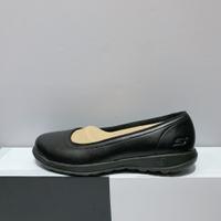 SKECHERS GO WALK LITE 女生 黑色 皮革 輕量 工作鞋 舒適 休閒鞋 16371BBK