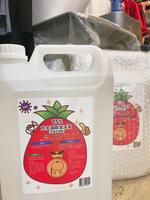 【毒】現貨 酒精國家隊-芃宇生技 酒精潔淨液 現貨/75% 可手部消毒清潔用酒精 一入4000ml 純乙醇+水 送醫療口罩 ISO認證