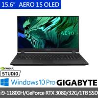 【GIGABYTE 技嘉】AERO 15 OLED YD 15.6吋電競筆電(i9-11980HK/32G/512G+1TB SSD/RTX3080 8G/WIN10PRO)