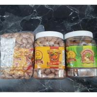 【越南】BA TU BINH PHUOC 頂級 特大 帶皮鹽焗腰果HAT DIEU 罐裝 真空包裝 夏威夷豆500g