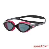 【SPEEDO】成人 運動泳鏡 Futura Biofuse(紫灰)