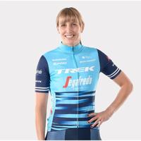 【Santini】Trek Segafredo Team Race Replica Jersey女子隊車迷版短袖(Trek 2021女子隊車迷版短袖車衣)