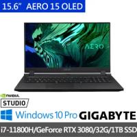 【GIGABYTE 技嘉】AERO 15 OLED YD 15.6吋 創作者筆電(i7-11800H/GeForce RTX 3080/16G/1TB SSD/Win10P)