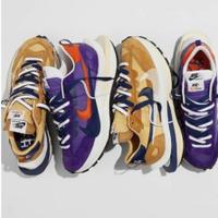 新款 Sacai x Nike Vaporwaffle 藍紫卡其 DD1875-200 DD1875-500正品 現貨