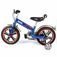 【領券滿額折120】英國Mini Cooper 兒童腳踏車14吋-閃電藍★愛兒麗婦幼用品★