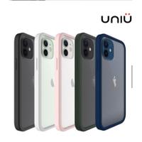 UNIU SI BUMPER iPhone 12系列防摔矽膠框