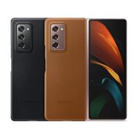 【SAMSUNG 三星】Galaxy Z Fold2 / Z Fold2 5G 原廠皮革背蓋(台灣公司貨)