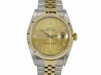 ROLEX錶 勞力士 16233 原鑲十鑽面盤