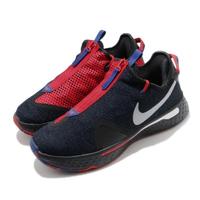 【NIKE 耐吉】籃球鞋 PG 4 EP 運動 男鞋 明星款 避震 包覆 XDR外底 球鞋 紅 藍(CD5082-006)
