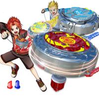 正版靈動魔幻陀螺2代兒童夢幻陀螺玩具套裝戰鬥盤二代焰天火龍王#4358