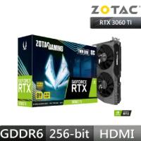 【ZOTAC 索泰】GAMING GeForce RTX 3060 Ti Twin Edge OC LHR
