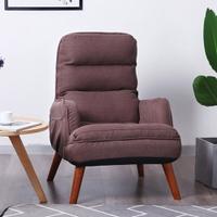 哺乳椅 餵奶椅單人懶人沙發哺乳沙發高靠背小戶型陽台休閒椅臥室看書椅 雙十一購物節 預購