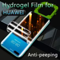 P50Pro Hydrogel Film For Huawei P40Pro P30 Pro Privacy Screen Protector Mate30Pro Mate20 Pro Anti Spy Mate40Pro Mate40RS