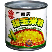 【Buffalo 牛頭牌】甜玉米粒易開(340g*24)