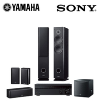 【YAMAHA & SONY】5.1聲道家庭劇院組(STR-DH790+NS-F160+NS-P160+NS-SW050)