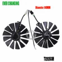 2PCS/lot 95MM 4Pin T129215SM Cooler Fan For ASUS ROG-POSEIDON-GTX 1080 Ti-P11G-GAMING Fan GTX1080Ti Video Card Cooling Fan