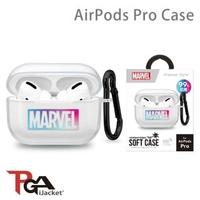【iJacket】漫威 Marvel AirPods Pro 抗菌 透明保護套(總代理商公司貨)