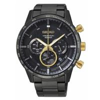 刷卡滿3千回饋5%點數|SEIKO精工 50周年紀念款三眼計時腕錶8T63-00H0SD(SSB363P1)