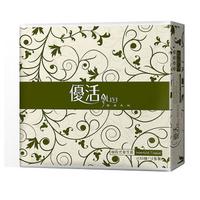 LIVI 優活抽取式衛生紙 130抽x80包/箱