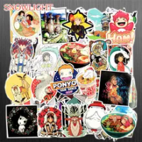 10/30/50/100 Pcs/แพ็คญี่ปุ่นการ์ตูน Miyazaki Hayao Series แล็ปท็อปสติกเกอร์ตกแต่งบ้านกระเป๋าเดินทางเด็กของเล่น ...