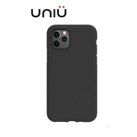UNIU 矽膠軍規防摔殼 iPHONE 11 系列 純黑