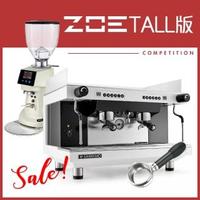 【SANREMO】Zoe competition TALL版 咖啡機+Fiorenzato F64E 磨豆機(HG1393+0935)
