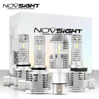 NOVSIGHT汽車LED大燈H4 H11H7N36 6000/9000k 8000LM汽車燈40W防水
