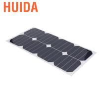 惠達18 V 25 W Sunpower芯片太陽能電池板戶外便攜式PET白色