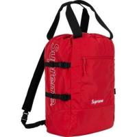 [大阪帶回] Supreme SS19 Tote Backpack  背包 後背包 手提包 附購買證明 貼紙 提袋 吊牌