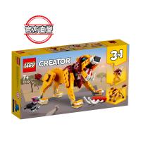 【LEGO 樂高】創意百變系列3合1 野獅 31112 鴕鳥 獅子(31112)