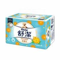 【舒潔】特級舒適金盞花抽取衛生紙 90抽x8包x8串/箱 (共64包)免運