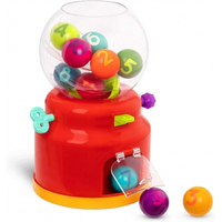 麗嬰兒童玩具館--B.toys糖果搖搖(數列)_Battat系列 數字搖獎機