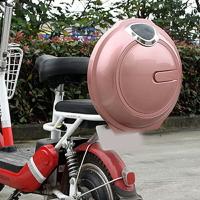 摩托車尾箱 電動車后備箱通用大容量圓形飛碟箱子雅迪愛瑪電瓶自行車靠背尾箱『xxs25441』