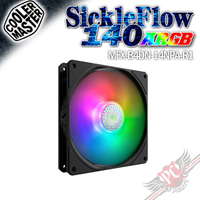 COOLERMASTER SICKLEFLOW 140 ARGB 風扇 PC PARTY