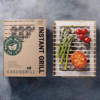 【Casusgrill】丹麥工藝環保烤肉架