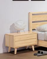 【尚品傢俱】HY-B149-03 丹麥原木全實木床頭櫃