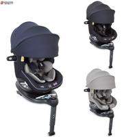 【甜蜜家族】Joie i-Spin360 Canopy 汽座0-4歲頂篷款 (灰/黑/藍)