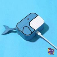 耳機套 airpods pro保護套可愛卡通硅膠airpod殼套蘋果無線藍芽耳機套3代
