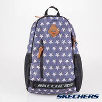 特賣↘SKECHERS 雙拉鍊 透氣網布 耐用 單寧 星星 後背包 運動背包 - S37309【陽光樂活】