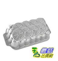 [美國直購]  Nordic Ware Citrus Loaf Pan, Metallic 蛋糕模具