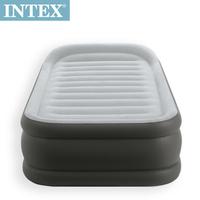 【INTEX】豪華三層圍邊充氣床(內建電動幫浦)