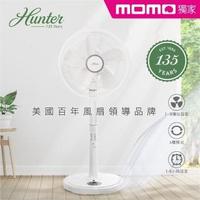 【美國百年品牌 Hunter】momo獨家14吋微電腦ECO智慧遙控擺頭DC節能風扇(HTF-DC1411)