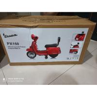 限時優惠 全新 現貨 Vespa 偉士牌兒童電動機車 px150 兒童騎乘電動車 電動 機車 偉士牌羅馬假期電動車