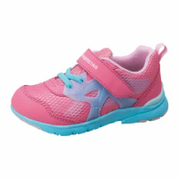 【MOONSTAR 月星】Hi系列-2E寬楦機能童鞋(粉)