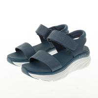 【SKECHERS】女 休閒系列涼鞋 拖鞋 D LUX WALKER(119226SLT)