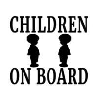 12.7ซม.* 12.7ซม.เด็ก ON BOARD Boy Vinyl Decal ครอบครัวเด็กทารกความปลอดภัยรถบรรทุกแล็ปท็อปกระเป๋าเดินทางหมวกนิรภ...