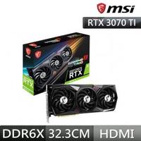 【MSI 微星】RTX 3070 Ti 8G GAMING X TRIO PCI-E顯示卡