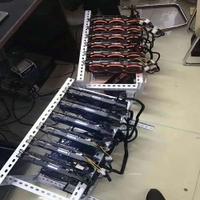 Bitcoin 矿机机架 挖矿多显卡叠加机架多顯卡架6顯卡機架8挖礦臺式機礦架外置散熱固定開放式機箱支架