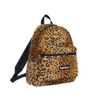 【Ting Store】【代購】supreme Leopard Fleece 後背包 金虎紋