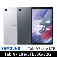 【SAMSUNG 三星】Galaxy Tab A7 Lite LTE(3G/32G)-T225